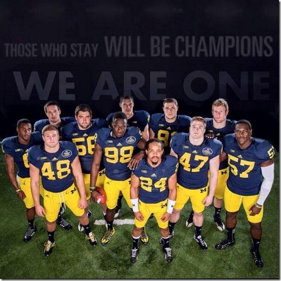 Michigan Wolverine Football Depth Chart 2014