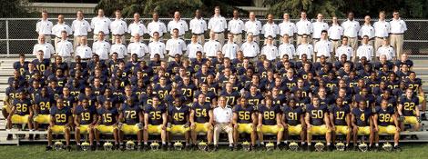 Michigan Wolverine Football Depth Chart 2006