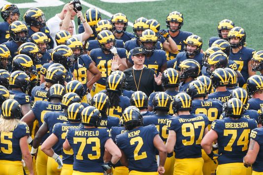 Michigan Football Developing Depth Chart 2018