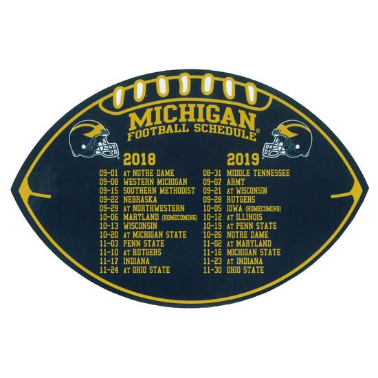 Michigan Wolverines 2019 Schedule Michigan Wolverine Football Depth Chart 2018